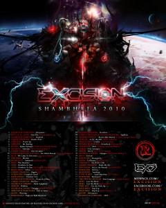 Excision Shambhala 2010 Tracklist